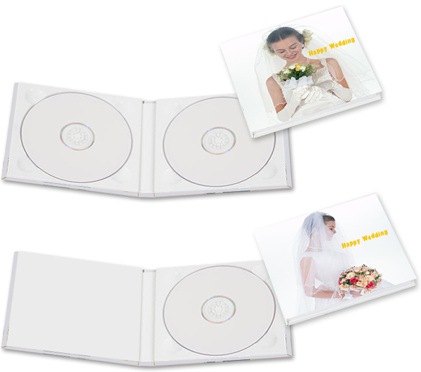 CD・DVDケース(表紙にオリジナルデザイン)