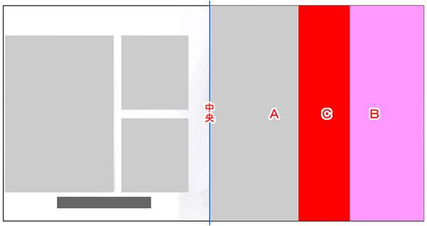 右のページは写真をAとBの2枚を配置しています。