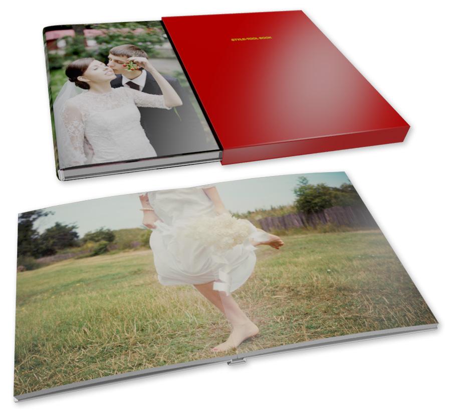 巻きカバー付き写真集(フラット)のフォトブック