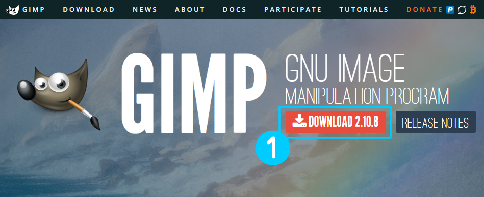 GIMP日本語化ダウンロード